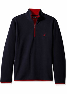 Nautica Men's Basic Nautex Half-Zip Sweatshirt