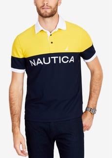 Nautica Men's Big & Tall Classic Colorblocked Polo