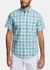 Nautica Men's Big & Tall Classic-Fit Stretch Plaid Shirt