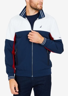 Nautica Men's Big & Tall Colorblocked Track Jacket