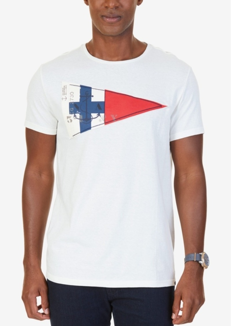 Nautica nautica men 39 s big tall graphic print applique t for Xxl tall graphic t shirts