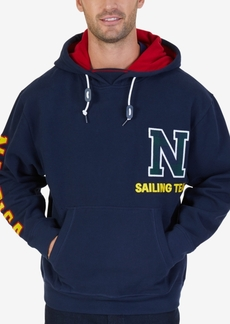 Nautica Men's Big & Tall Graphic-Print Hooded Sweatshirt