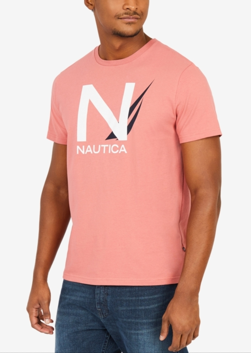 98feb41c Nautica Nautica Men's Big & Tall Graphic-Print T-Shirt | T Shirts