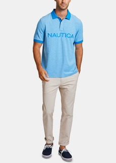 Nautica Men's Big & Tall Kailua Classic-Fit Oxford Polo