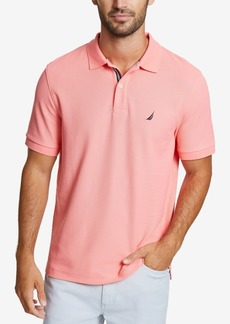 Nautica Men's Big & Tall Performance Deck Polo