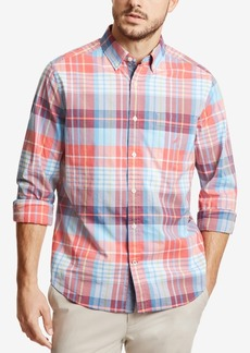 Nautica Men's Big & Tall Plaid Shirt