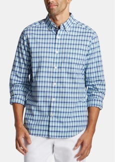 Nautica Men's Big & Tall Plaid Shirt