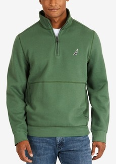 Nautica Men's Big & Tall Quarter-Zip Fleece Pullover