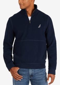 Nautica Men's Big & Tall Quarter-Zip Fleece Pullover