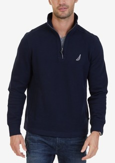 Nautica Men's Big & Tall Quarter-Zip Fleece Sweatshirt