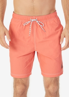 Nautica Men's Big & Tall Quick-Dry Solid J Class Swim Trunks