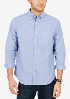 Nautica Men's Big & Tall Stretch Oxford Shirt