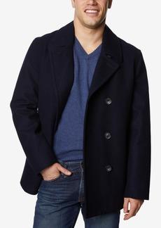 Nautica Men's Big & Tall Three-Button Pea Coat