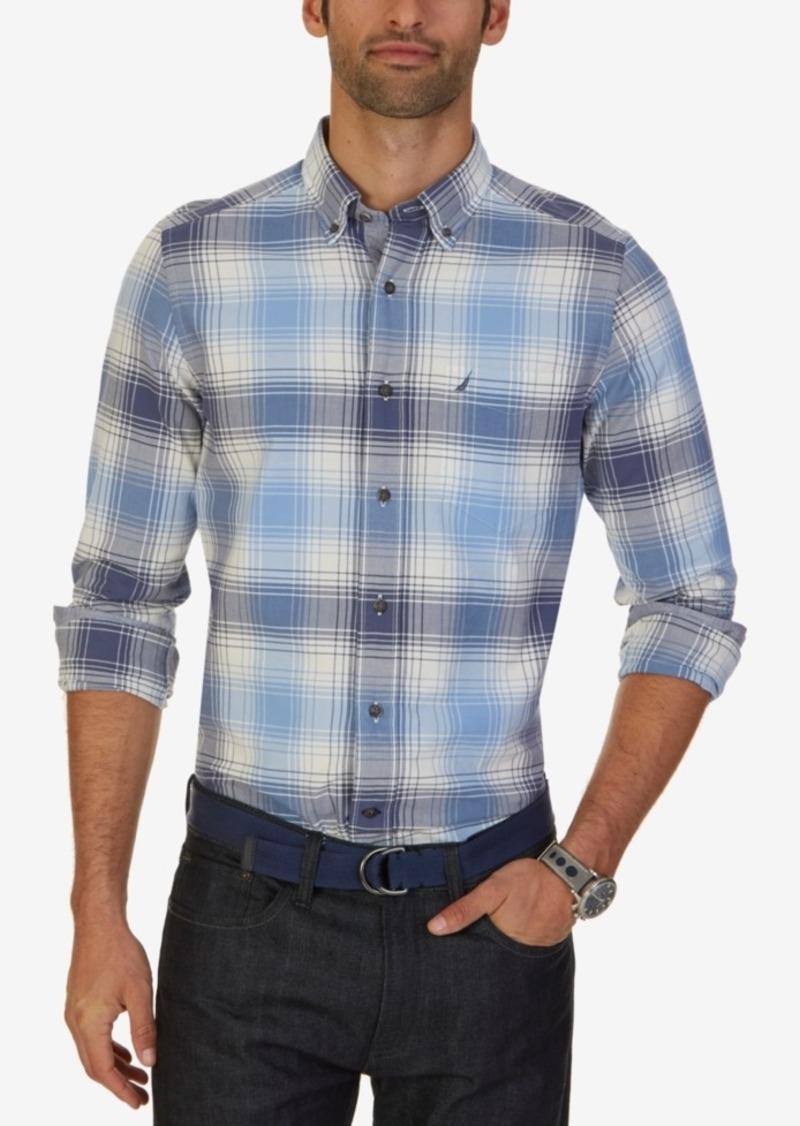 Nautica Men's Big & Tall Valiant Plaid Shirt