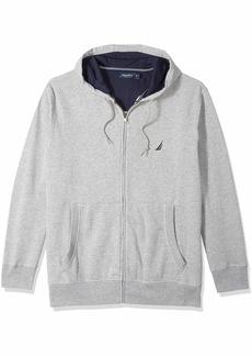 Nautica Men's Big and Tall Full-Zip Sweater Hoodie Sweatshirt  3XLT