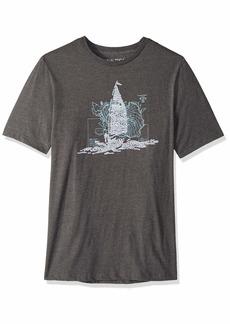 Nautica Men's Big and Tall Oceanographic Short Sleeve T-Shirt  4XLT