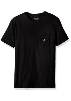Nautica Men's Big and Tall Solid Pocket T-Shirt  2XLT
