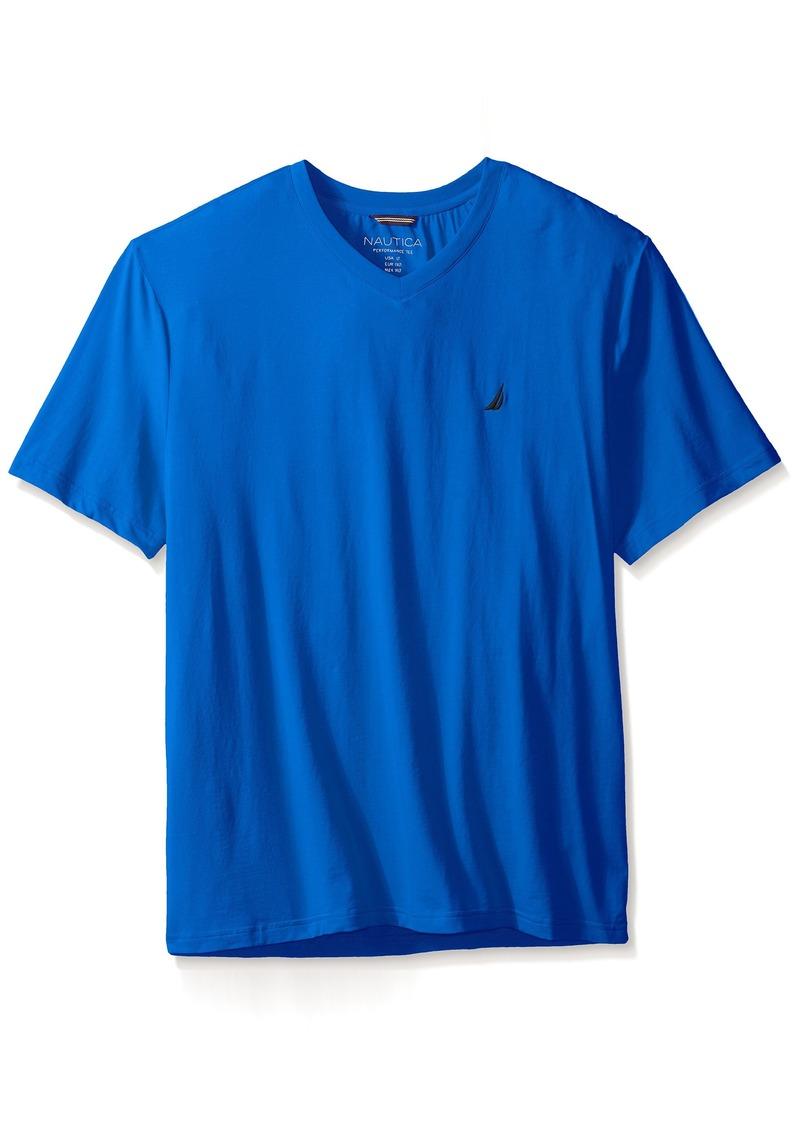 eacc15777ac5 Nautica Nautica Men's Big-Tall V-Neck T-Shirt 1   T Shirts