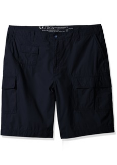 Nautica Men's Big and Tall Updated Utility Cargo Short-C71604  42W
