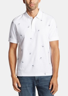 Nautica Men's Blue Sail Classic-Fit Icon Logo Polo, Created for Macy's