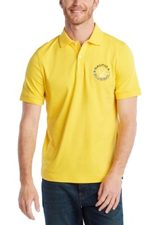 Nautica Men's Blue Sail Classic Fit Logo Polo Shirt, Created for Macy's