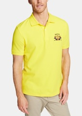 Nautica Men's Blue Sail Classic-Fit Moisture-Wicking Embroidered Logo Polo, Created for Macy's