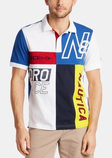 Nautica Men's Blue Sail Classic Fit Polo, Created for Macy's