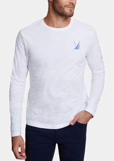 Nautica Men's Blue Sail Long-Sleeve T-Shirt, Created for Macy's