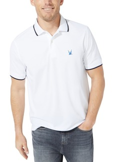 Nautica Men's Blue Sail Tipped Tech Polo, Created for Macy's