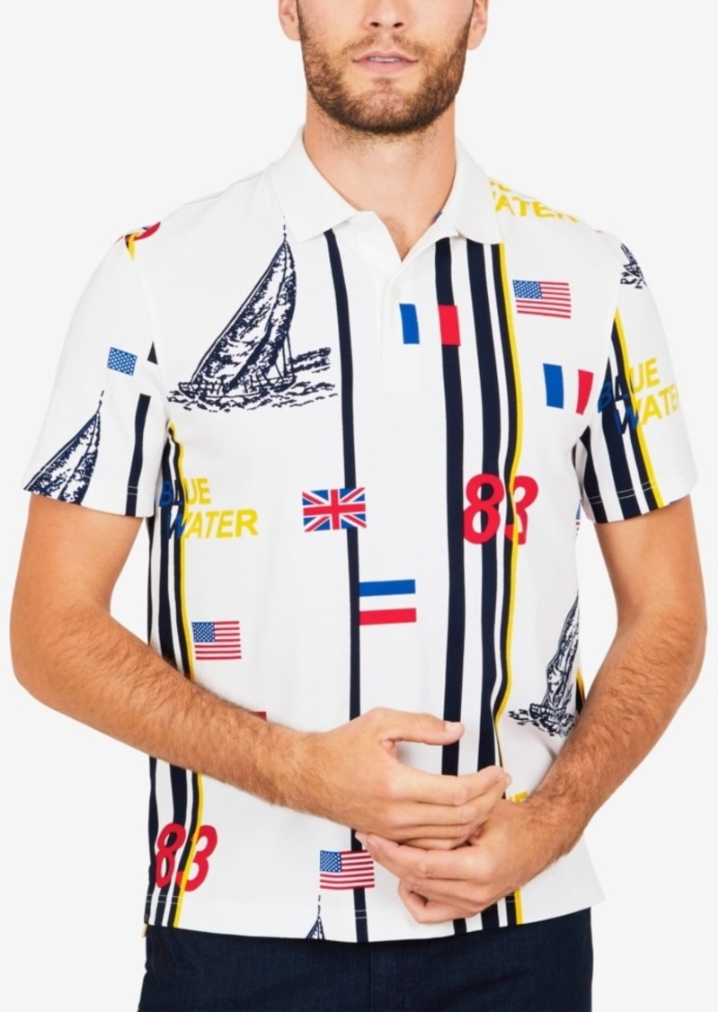 Nautica Men's Blue Water Classic Fit Polo Shirt
