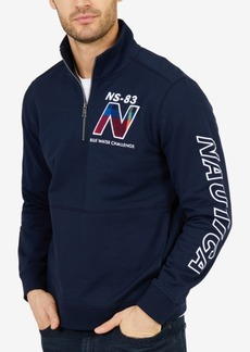 Nautica Men's Blue Water Half-Zip Pullover