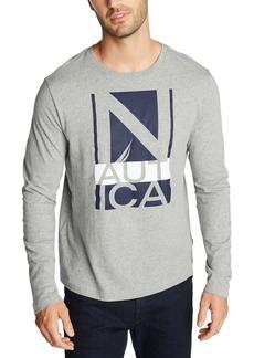 Nautica Men's Boat and Flag Reissue Graphic Shirt
