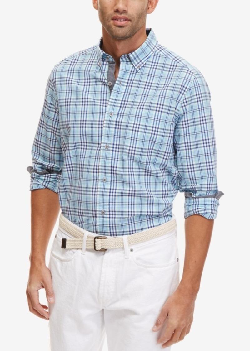 Nautica Men's Breakwater Plaid Long-Sleeve Shirt