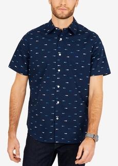 Nautica Men's Breakwater Printed Classic Fit Shirt