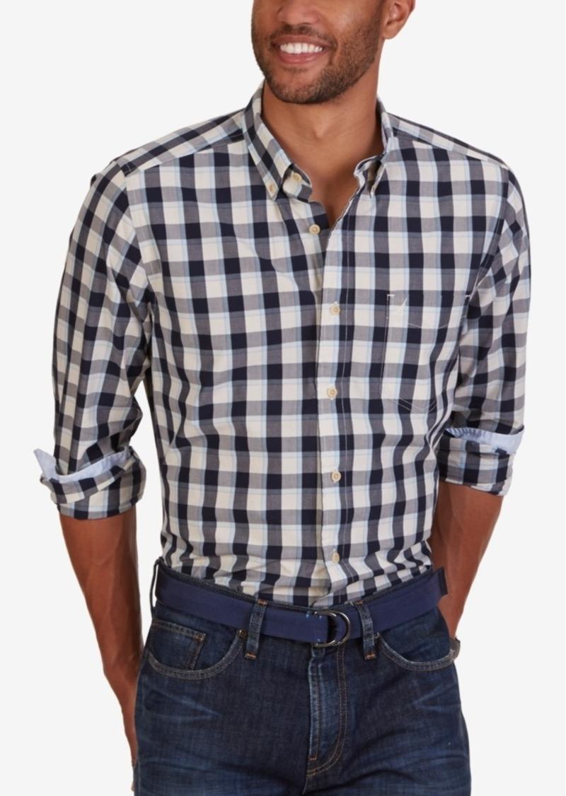 Nautica Men's Breeze Plaid Long-Sleeve Shirt