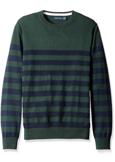 Nautica Men's Breton Stripe Sweater  M
