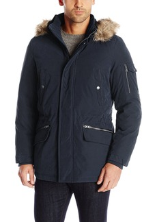 Nautica Men's Brushed Bi-Blend Hooded Parka  XXL