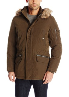 Nautica Men's Brushed Bi-Blend Hooded Parka  XL