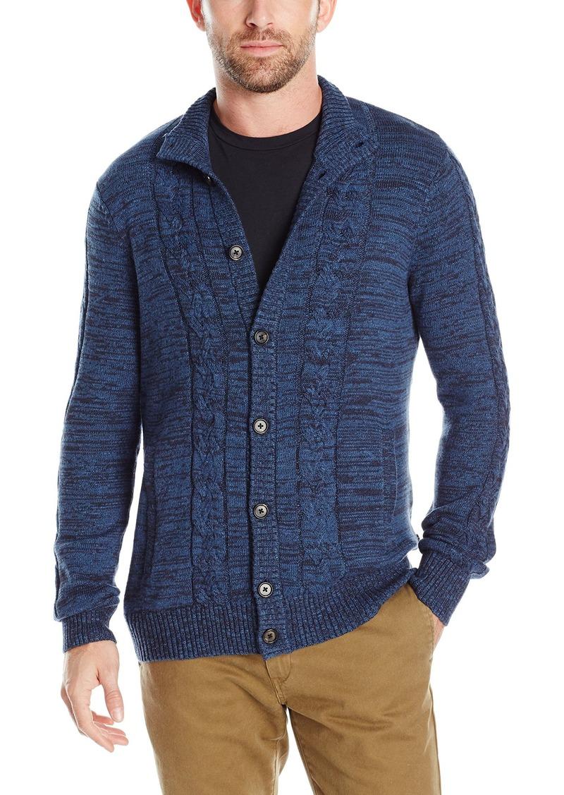 Nautica Men's Cable-Knit Cardigan  Medium