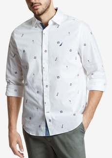 Nautica Men's Casual Lighthouse Shirt