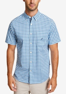 Nautica Men's Casual Plaid Checked Shirt