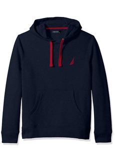 Nautica Men's Chest Logo Pullover Hoodie Sweater  Medium