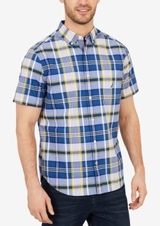 Nautica Men's Classic Fit Casual Plaid Shirt