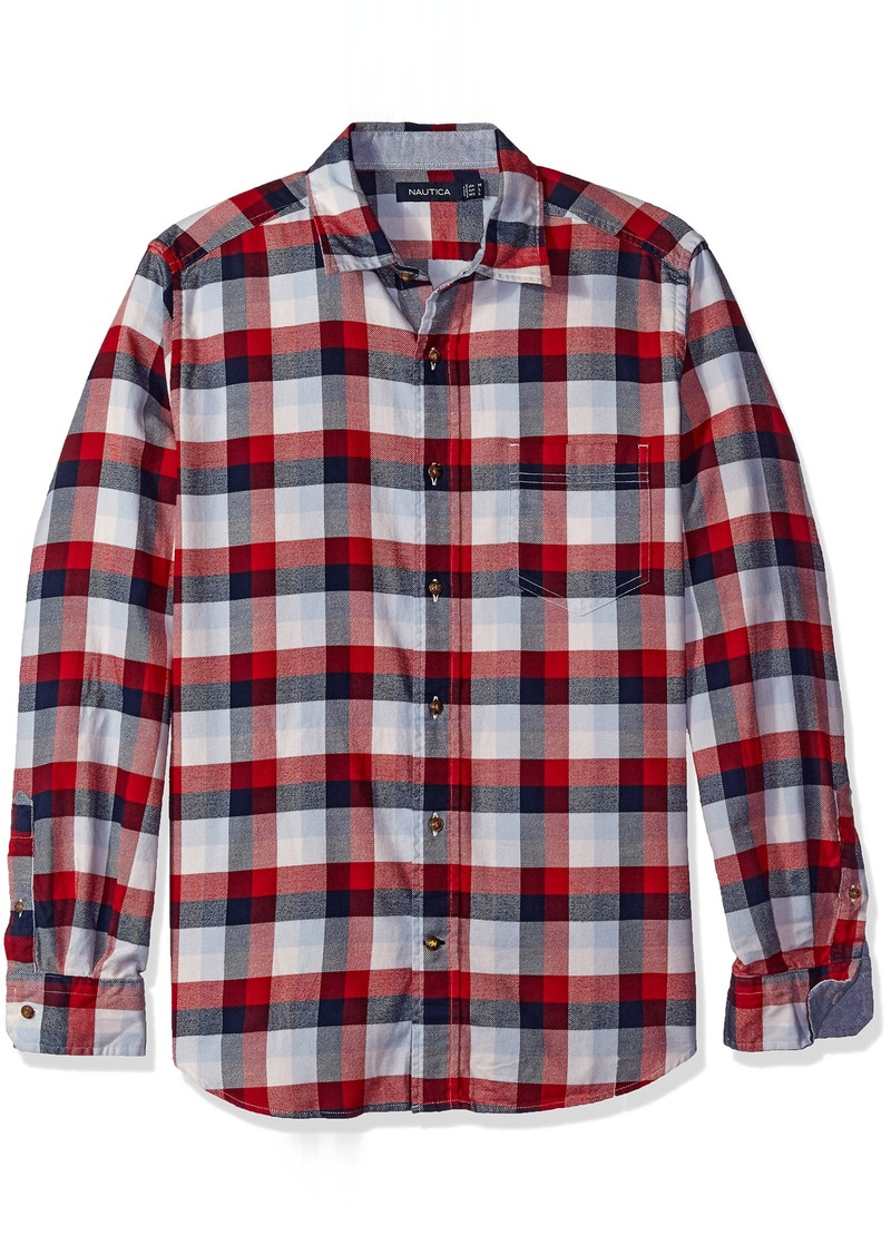 Sale nautica nautica men 39 s classic fit check shirt m for Nautica shirts on sale