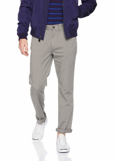 Nautica Men's Classic Fit Flat Front Straight 5 Pocket Pant  36W 30L