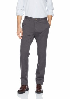 Nautica Men's Classic Fit Flat Front Stretch Chino Deck Pant  33W 32L