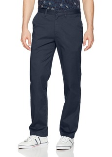 Nautica Men's Classic Fit Flat Front Stretch Solid Chino Deck Pant  38W 34L