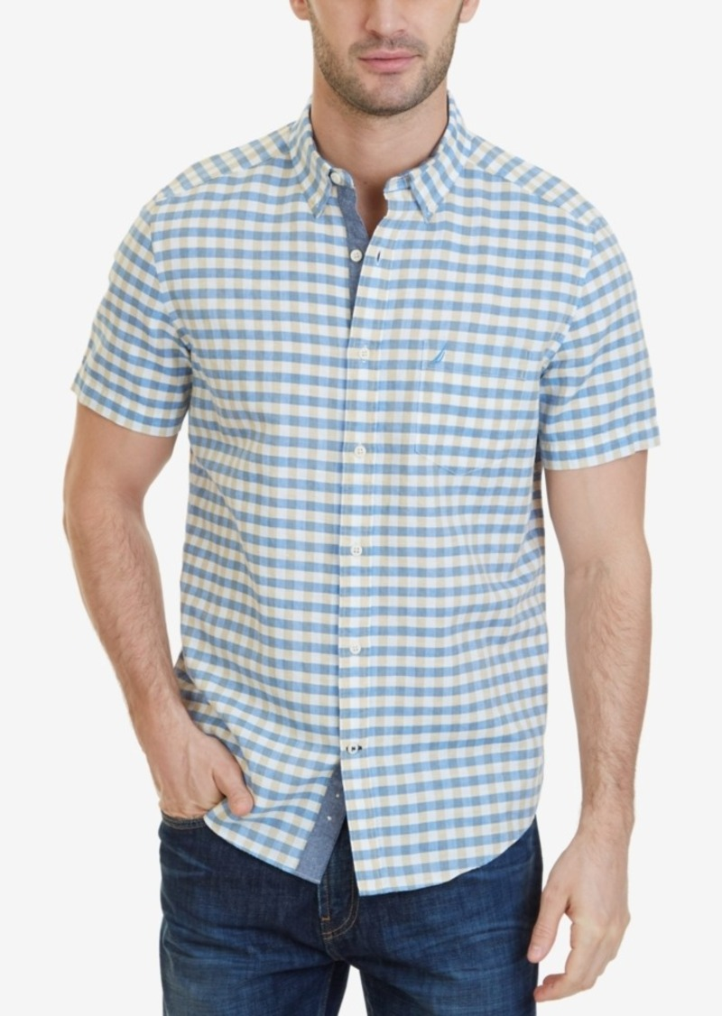 On sale today nautica nautica men 39 s classic fit gingham for Nautica shirts on sale