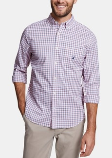 Nautica Men's Classic Fit Gingham Shirt, Created for Macy's