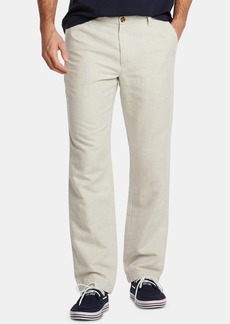 Nautica Men's Classic-Fit Linen-Blend Pants